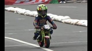 JUARA ! AKSI Memukau Nicky Hayden Pembalap Mini GP Roadrace Bupati Cup 2 Purbalingga 21 Januari 2018