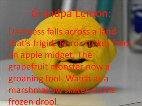 Chiller By The Annoying Orange (lyrics)