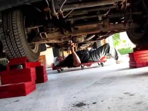 Homemade Car Ramp Youtube