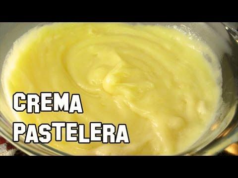 Recetas de Cocina | Como Hacer Crema Pastelera