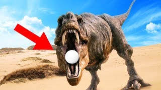 GOLF WITH DINOSAURS! (Golf With Friends)