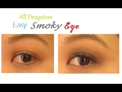 All Drugstore Easy Smoky Eye (Day Appropriate)