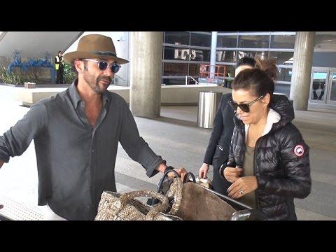 Newly Engaged Eva Longoria And Jose Baston Return From Celebration Trip In India