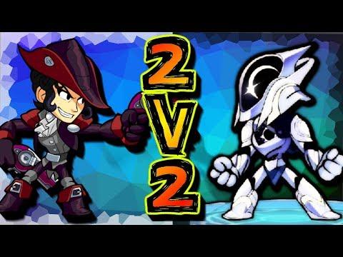 RANKED 2v2s w/ Slime • DIANA + ARTEMIS OP!! • Brawlhalla Gameplay