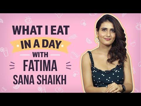 Fatima Sana Shaikh - What I Eat In A Day| Bollywood| Pinkvilla| Thugs of Hindostan thumbnail