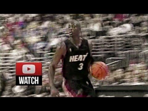 2003.10.28 Philadelphia 76ers vs Miami Heat Dwyane Wade Highlights, First Career Game, Fresh, Sick!
