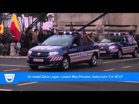 Noile modele Dacia in defilare de Ziua Nationala a Romaniei -- 1 decembrie 2012