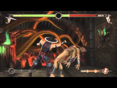 MK9 - Kung Lao 75% First Hit (X-Ray) Combo 1.05