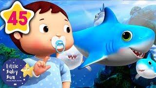 Baby Shark Dance! | +More Baby Songs | Nursery Rhymes | Little Baby Bum