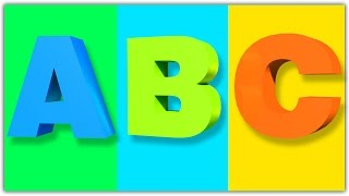 ABC Song | ABC Nursery Rhymes | Poems For Kids