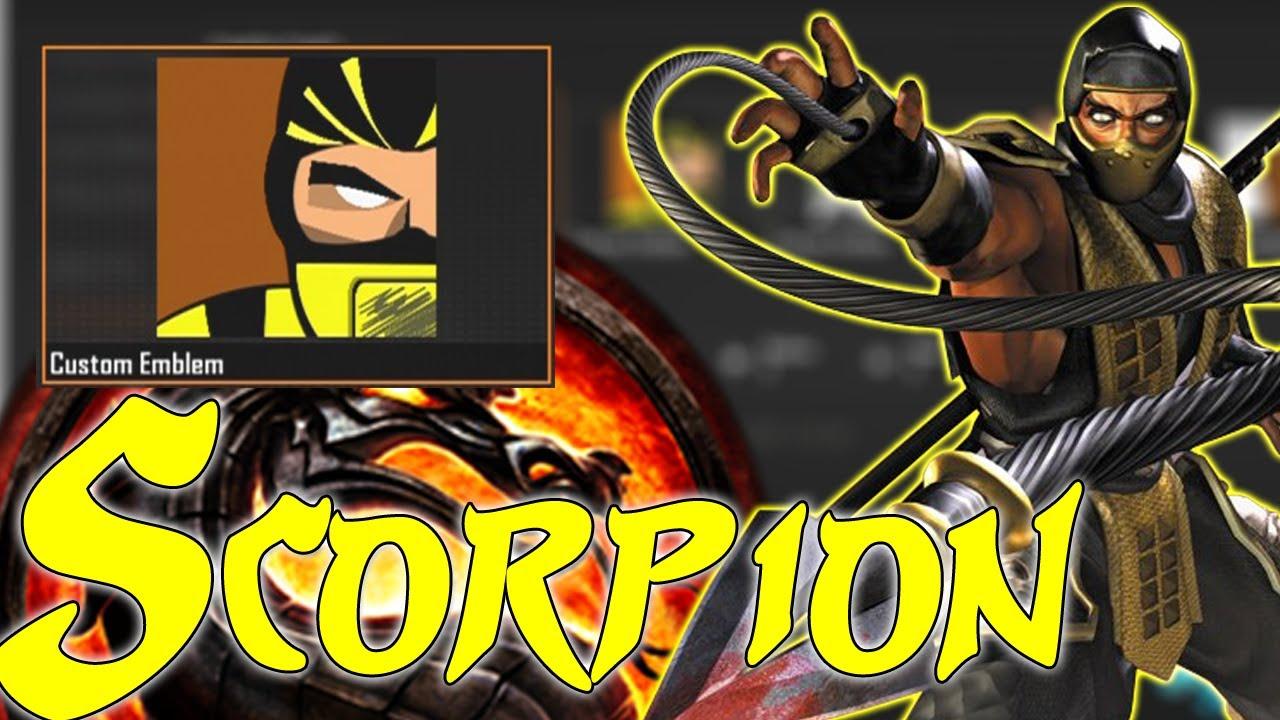 Scorpion Black Ops 2 Emblem Black Ops 2 Best Scorpion