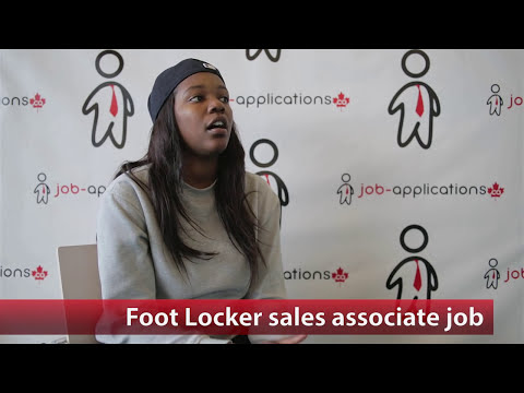 Foot Locker Sales Associate Job