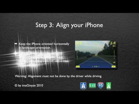 Augmented Driving on your iPhone 3GS - Setup Guide