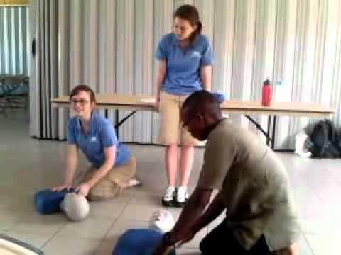 American nursing students in Ghana