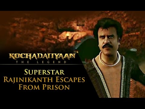 Rajinikanth Escapes From Jail