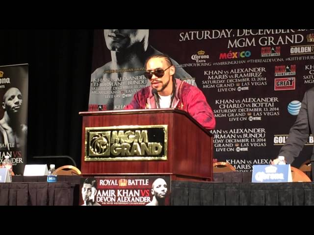 Keith Thurman calls for a Marcos Maidana fight.