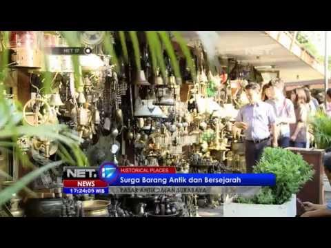 NET17 - Pasar Antik Jalan Surabaya Menteng Surga Kolektor Barang Antik