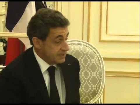 PM Modi meets former President of France Nicolas Sarkozy in Paris