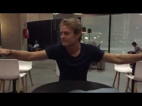 Nico Rosberg: slow motion interview after winning Brazilian GP 2014