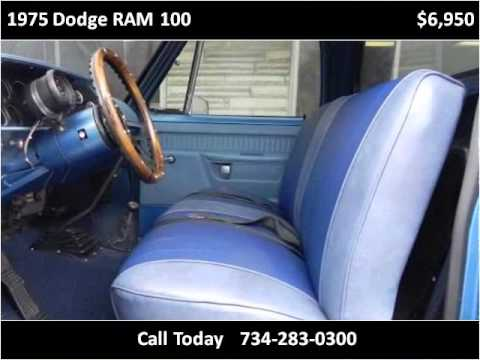 1975 Dodge RAM 100 Used Cars Wyandotte MI