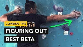 Rock Climbing Tips: Finding a better beta on a crucial start