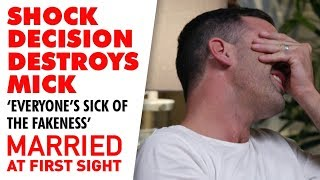 Mick and the group call Jess out for her lies | MAFS 2019