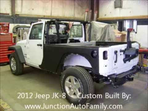 Jeep Jk 8 Truck Conversion For Sale In Chardon Ohio Youtube