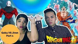 GOKU VS JIREN Dragon Ball Super Episode 109 & 110 REACTION! Part 1 Boyfriend and Girlfriend Reaction