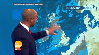 [HD] Good Morning Britain: Bristolian weather forecast