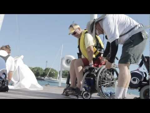 North American Challenge Cup, Rob Klein Interview. Disabled Sailing.
