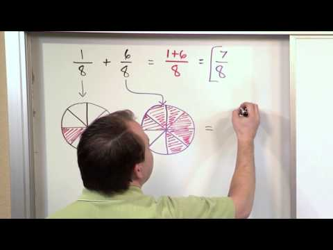 Adding Fractions With Like Denominators - 5th Grade Math video