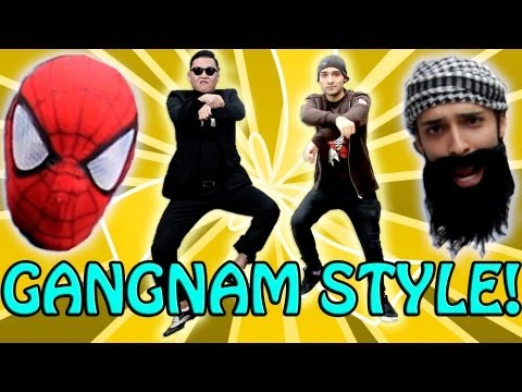 PSY - Gangnam Style - New York City (Arabic Parody Ganin Style) () M/V