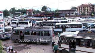 Download Local bus stand in Kathmandu - Nepal 3Gp Mp4