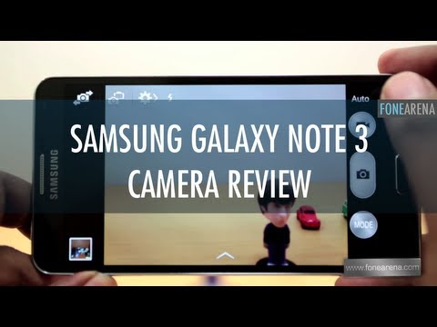 Samsung Galaxy Note 3 Camera Review