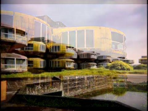 San Zhi: ciudad futurista abandonada.