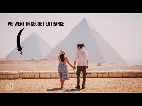 Exploring INSIDE the Pyramids!