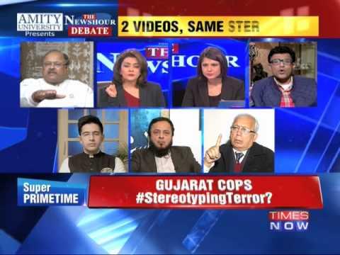 The Newshour Debate: Is Gujarat police Stereotyping Terror? - Part 1 (1st Jan 2015)