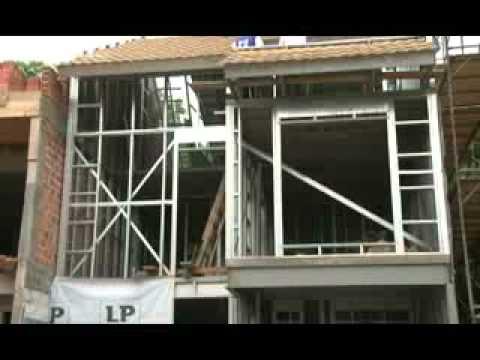 Programa casa sul steel frame youtube - Casas steel framing ...