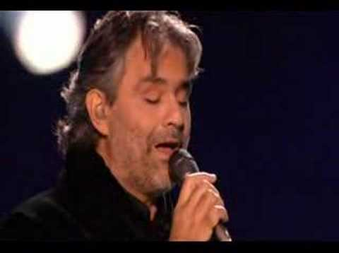 MI MANCHI - Andrea Bocelli live
