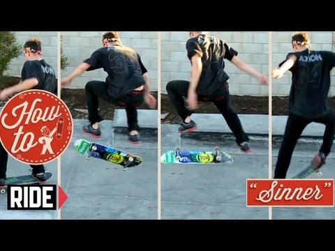 How-To Skateboarding: Nollie Flip with Pat &quot;Sinner&quot; Pasquale