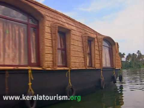 Houseboats, Kerala, Backwater cruise
