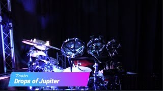 Drops of Jupiter by Train - Drum Cover (First take, out of the bag, drumless track)