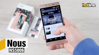Nous NS5006 — обзор одного из самых доступных смартфонов с 3 ГБ оперативной памяти