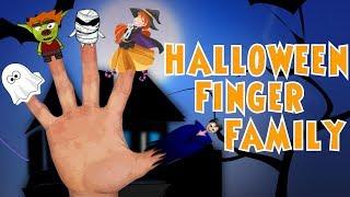 Halloween Finger Family | Children's Music | Nursery Rhyme