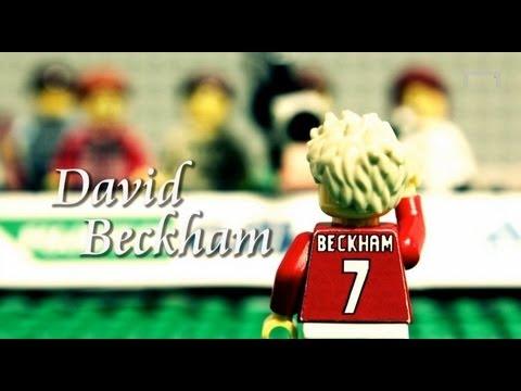 David Beckham's career - LEGO
