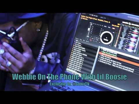 Lil Boosie Calls Webbie During His Show Live From Prison On Gutta TV