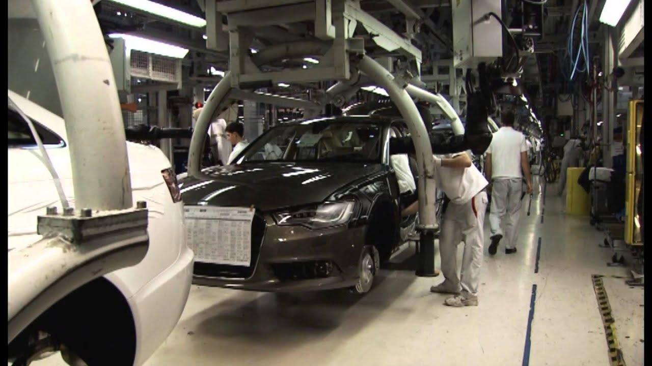 Audi A Series Production Line A1 A4 A6 A7 Youtube