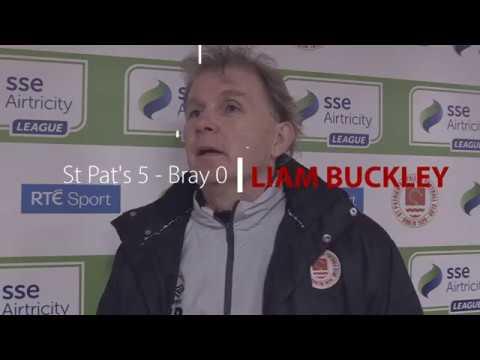 Interview: Liam Buckley (vs Bray Wanderers 06/04/2018)