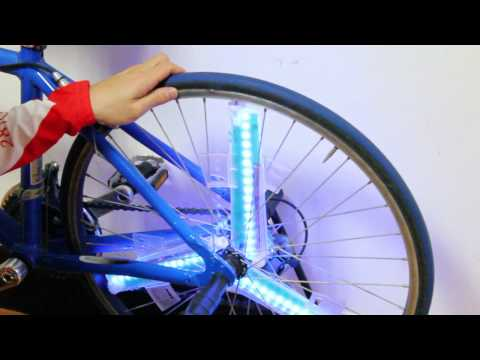 anvii™ wheel light : installation and demo