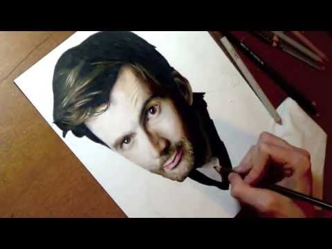 Drawing David Tennant